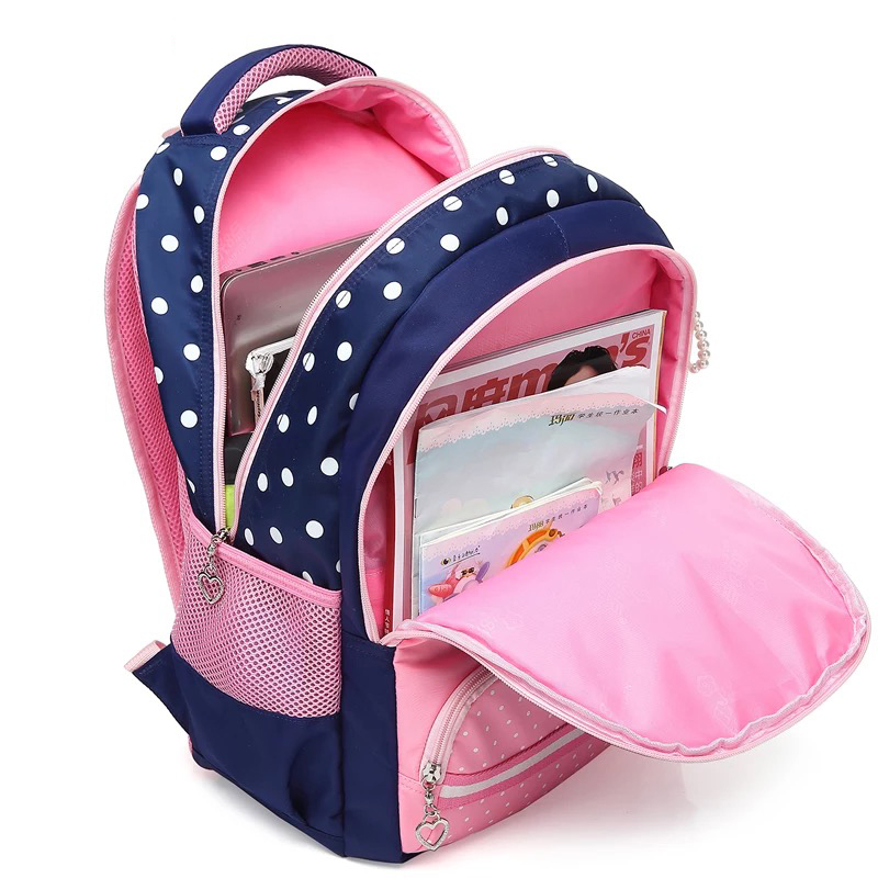522c231214e 2018 NEW Light Girl Backpack Cushion Back Bag Waterproof Nylon School Bag  For Girls Cheap Children Bags Fashion -in School Bags from Luggage   Bags  on ...