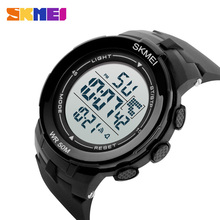 SKMEI Brand Outdoor Sports Watches Men LED Fashion Watch Male Military Waterproof Digital Wristwatches Relogios Masculinos 1127 все цены