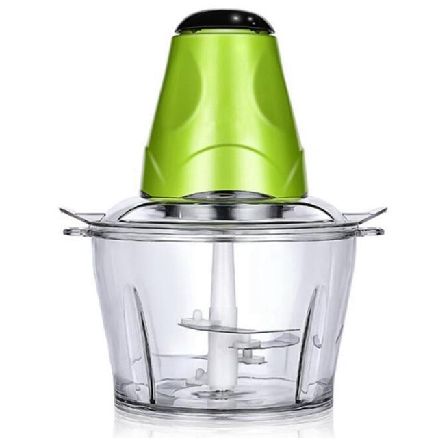 2Lเครื่องบดเนื้อไฟฟ้าChopper Shredder Chopperอาหารเครื่องมือห้องครัวผักผลไม้เครื่องบดMulti-FunctionทำอาหารMach