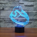 Wedding Ring Night Light Designs   Table  Lamp Romantic Night Lighting 7 Color Changing Led Lights