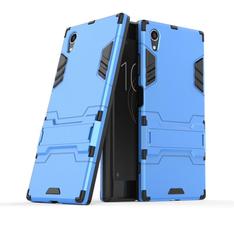 Image 4 - 3D Armor Case for Sony Xperia XA1 Plus Dual G3421 G3423 G3412 for Sony Xperia XZ1 Compact G8441 XA1 XZ1 XZ XZs Phone cover Case-in Half-wrapped Cases from Cellphones & Telecommunications