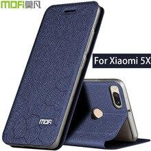 For Xiaomi mi5x flip case cover mi5x cover Xiaomi mi 5x book case cover funda leather xiomi 5x case cover silicon back mofi blue edt silicon controller cover protective case for ps3 blue black cover