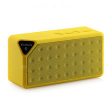 X3 Wireless Bluetooth Speaker Outdoor Small Sound Box Audio Mini Portable Speaker Radio TF card Subwoofer Loudspeaker(China)