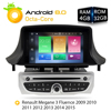 Android7 1 Car Stereo DVD Player GPS Glonass Navigation For Renault Megane 3 Fluence 2GB RAM