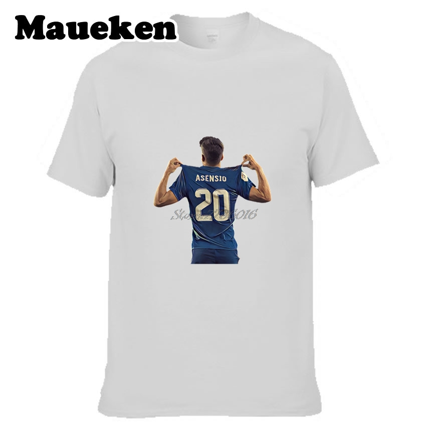another chance 9150a 7fb11 Men Spain Marco Asensio #20 hala new star T shirt Clothes ...