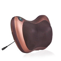Infrared Heating Double Beauty Body Device Neck Massage Pillow Car Massager Cushion Seat Covers Headrest Care