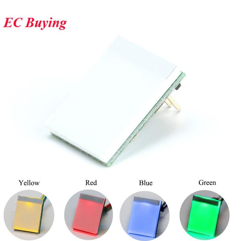 Сенсорный выключатель, сенсорный модуль на сенсорной кнопке, зеленый, синий, красный, желтый, Цветной RGB дисплей, интегральная схема