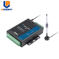 LPSECURITY 4 Way Network IO Controller RS485 WIFI/Ethernet Relay Switch Modbus TCP/RTU Protocol Support USR Cloud