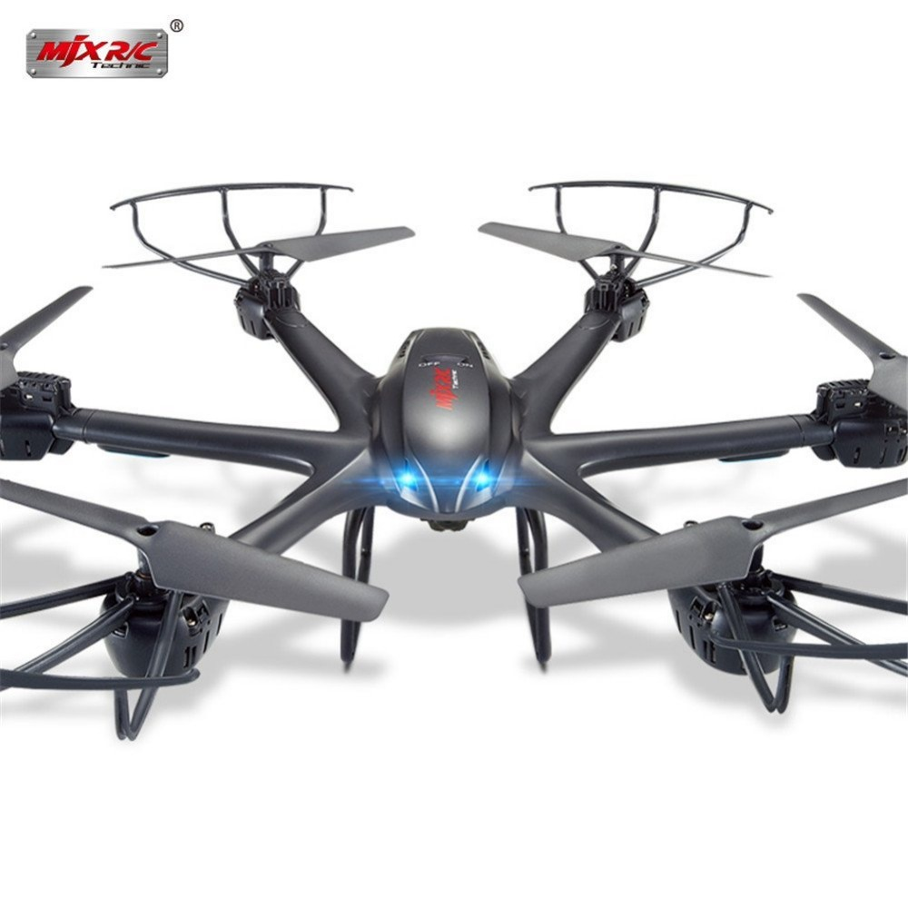MJX X601H 2.4Ghz 6-axis Gyro 3D Roll Quadcopter Wireless and HD Video Real-time WiFi FPV Camera-Black радиоуправляемый инверторный квадрокоптер mjx x904 rtf 2 4g x904 mjx