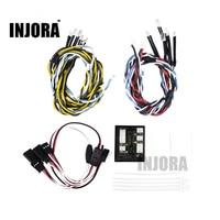 INJORA TRX4 Linkage Control 12 LED Lights Group For 1 10 RC Crawler Traxxas TRX