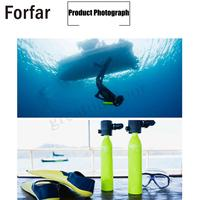 Hot Sale Oxygen Tank Air Tank 0.5L Underwater Diving Accessories Diving Training Entertainment Spare Air Tank Swimming Tools