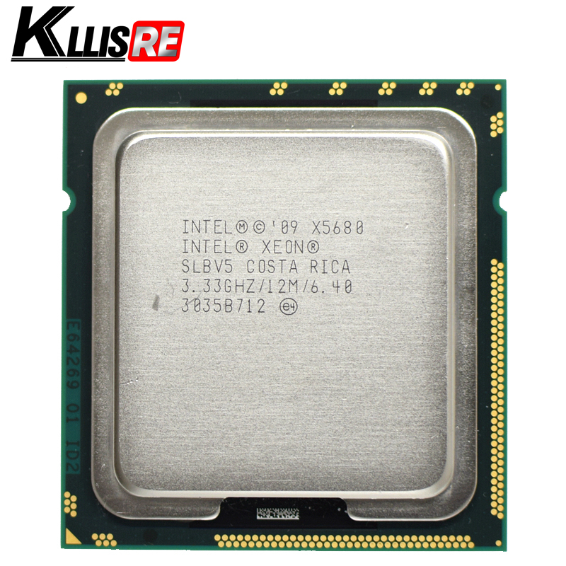 Intel Xeon X5680 3 33GHz LGA1366 12MB L3 Cache Six Core server CPU processor Intel Xeon X5680 3.33GHz LGA1366 12MB L3 Cache Six Core server CPU processor