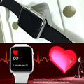 Novo bluetooth smartwatch smart watch 42mm iwo smart watch geração para ios apple iphone samsung huawei xiaomi android telefone