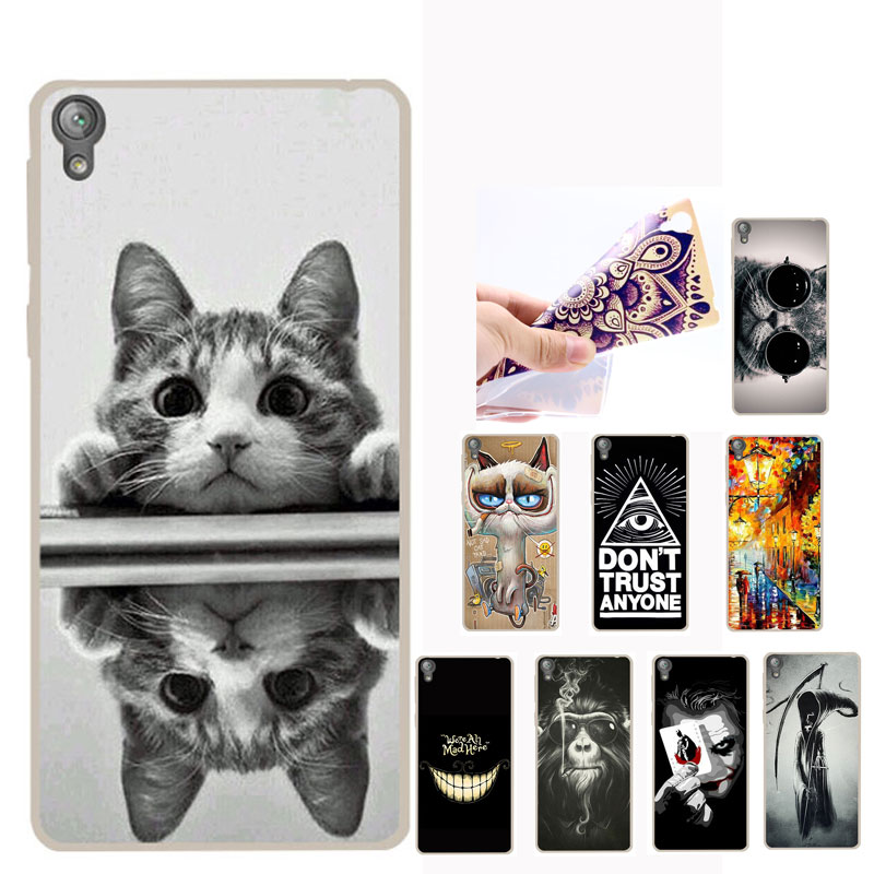 for coque sony xperia l1 case silicone cool joker soft tpu cover for sony xperia l1 l 1 g3311. Black Bedroom Furniture Sets. Home Design Ideas