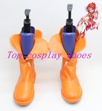 Yes! PrettyCure 5 Yes precure 5 pretty cure cure Natsuki Rin Cure rouge Cosplay Boots shoes shoe boot orange(China)