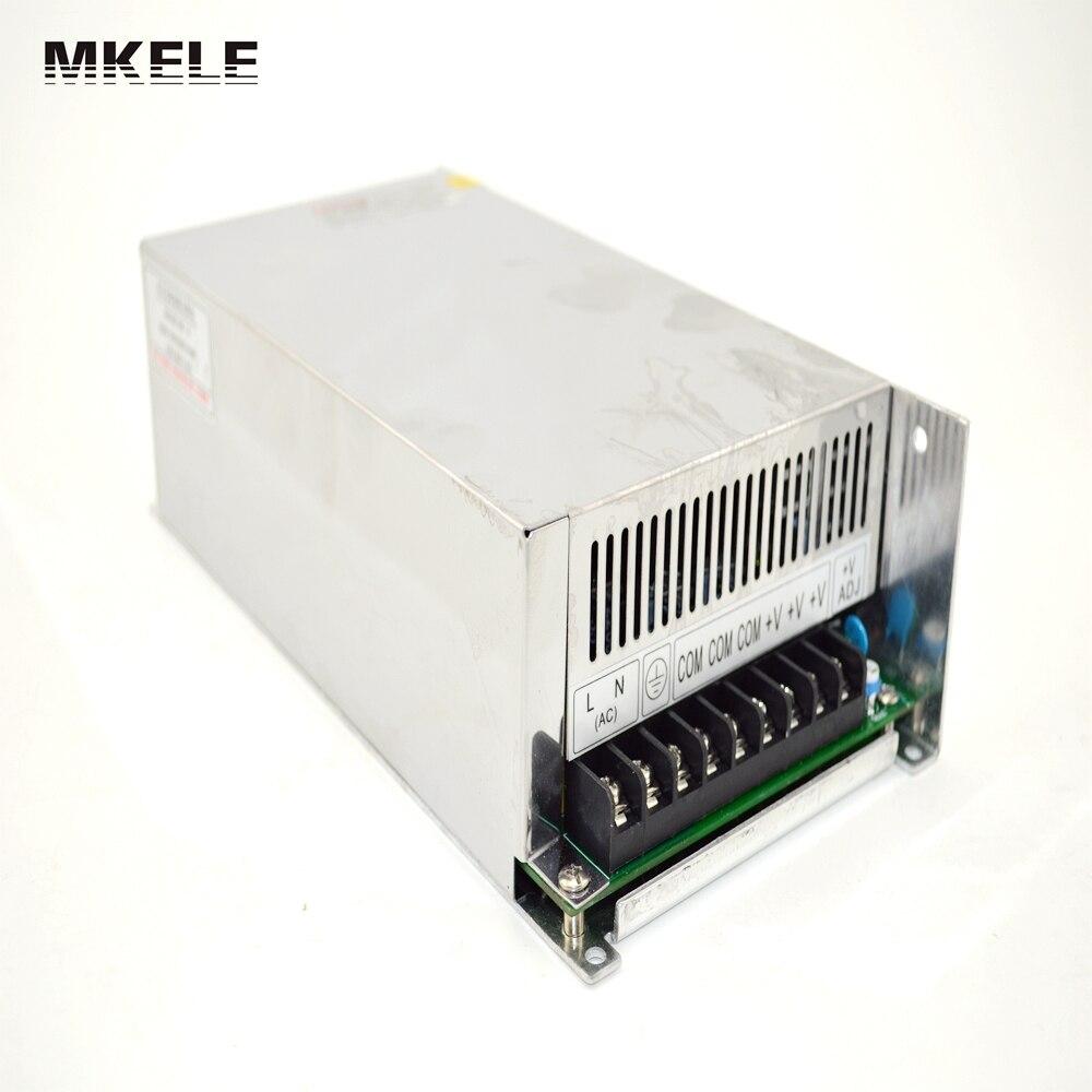 Переключатель привело питания 600 Вт 12 В 50A Ac Dc преобразователь Входного 220 В S-600w 12 В переменного тока регулятор напряжения S-600-12