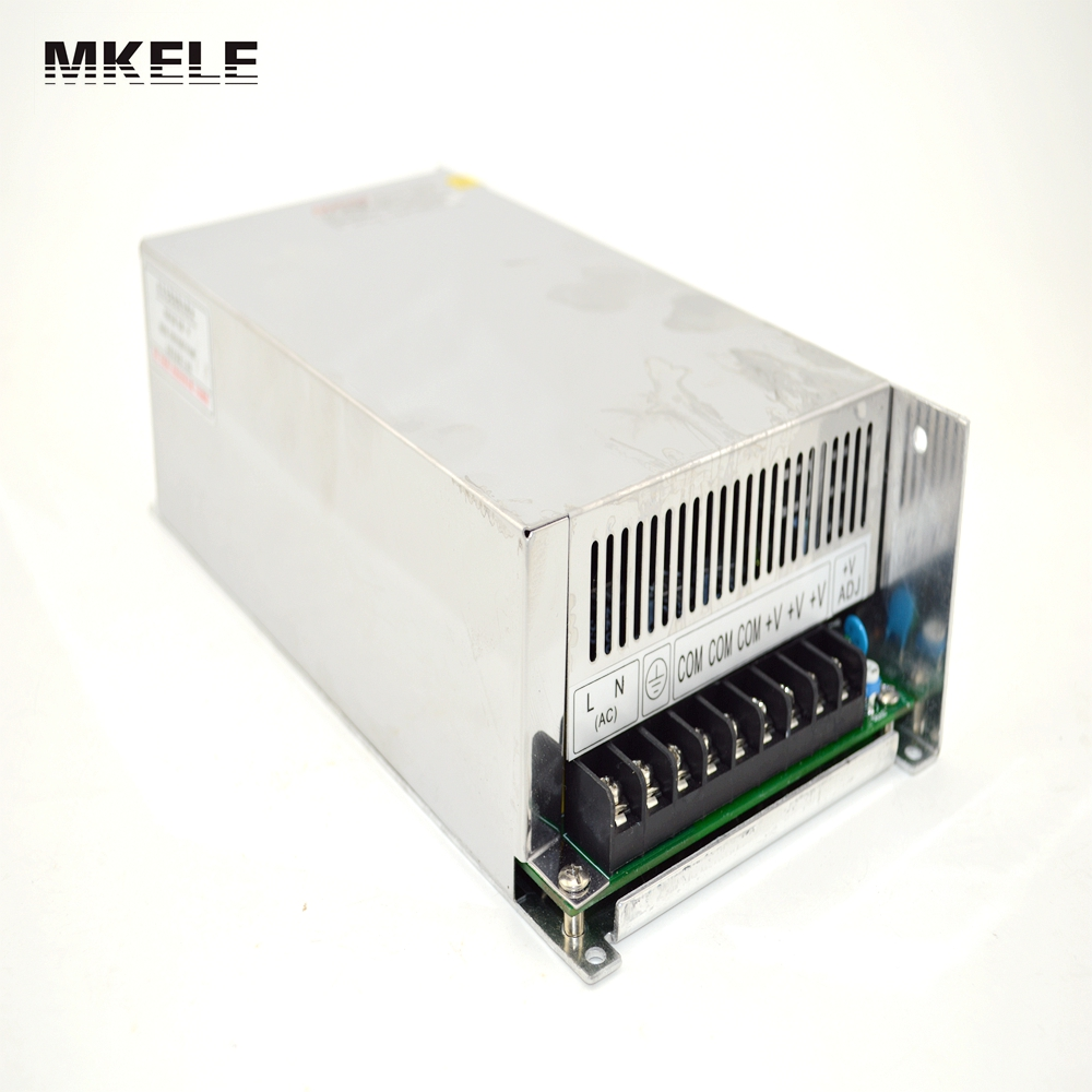 led power supply switch 600W 12v 50A ac dc converter Input 220v S-600w 12v variable dc voltage regulator S-600-12