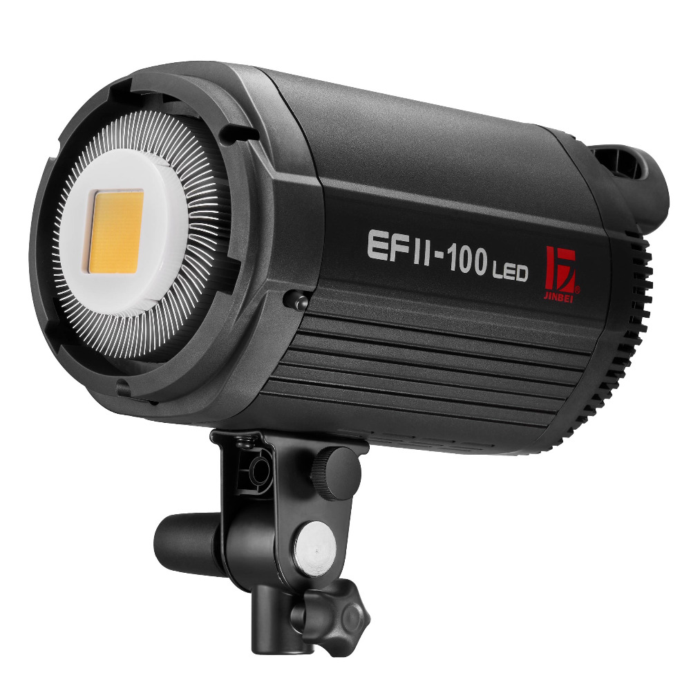 Jinbei NEW Upgraded EF-100 (EF-100II) 5500K Studio LED Continuous Sun light Lamp Bowens Mount цены
