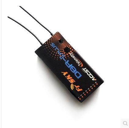 דו כיוונית FrSky 2.4G 8 ערוץ מקלט D8R II בתוספת עבור RC דגם משלוח חינםfrsky receiverrc receiverreceiver for rc