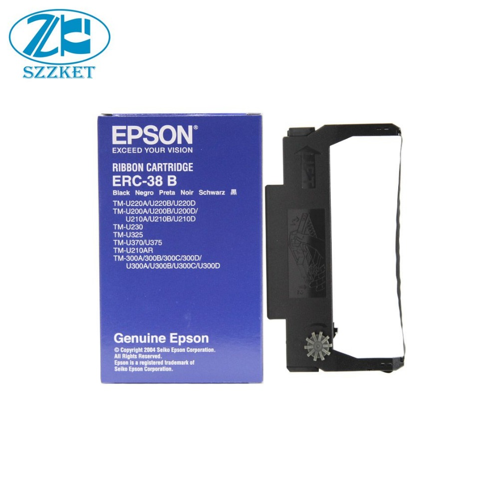 New Original Erc 38b For Tm U220 U200 U210 230 U325 U370 Head Epson Tmu 220 300 Tm375 38erc38erc38b In Printer Parts From Computer Office On