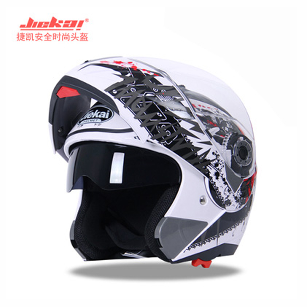 JIEKAI Motorcycle helmet men and women in the autumn/winter four seasons universal full - face helmet electric vehicle anti-mist fashion dql full face helmet motorcycle in the summer seasons man anti fog helmet s with clear lens