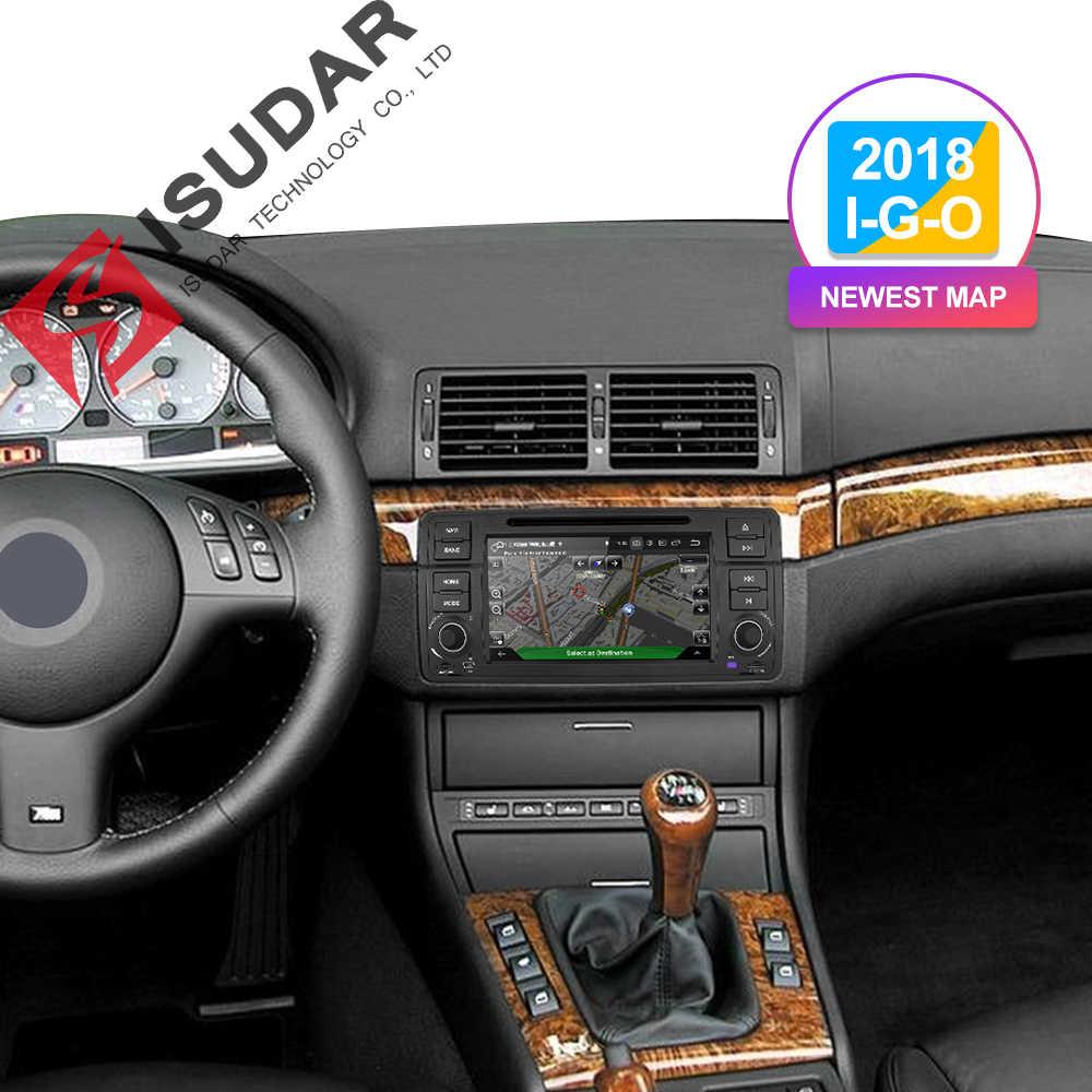 Isudar 2 DIN Tự Động Phát Thanh Android 9 Cho Xe BMW/E46/M3/MG/ZT/ROVER 75 /320/318/325 Đa Phương Tiện Video DVD GPS Dẫn Đường Đầu Ghi Hình