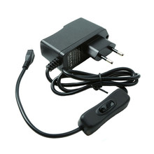 5 В 2.5a ЕС Европейский Стандартный Мощность переключатель Зарядное устройство Micro Порты и разъёмы Адаптеры питания для Raspberry Pi 3