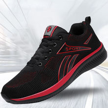 YeddaMavis Mens Shoes Casual Running Men Spring New Non-slip Mesh Sneakers Comfortable Zapatos De Hombre