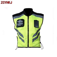 New! motorcycle vest motorbike bike racing reflective warning jacket reflective Safety Clothing