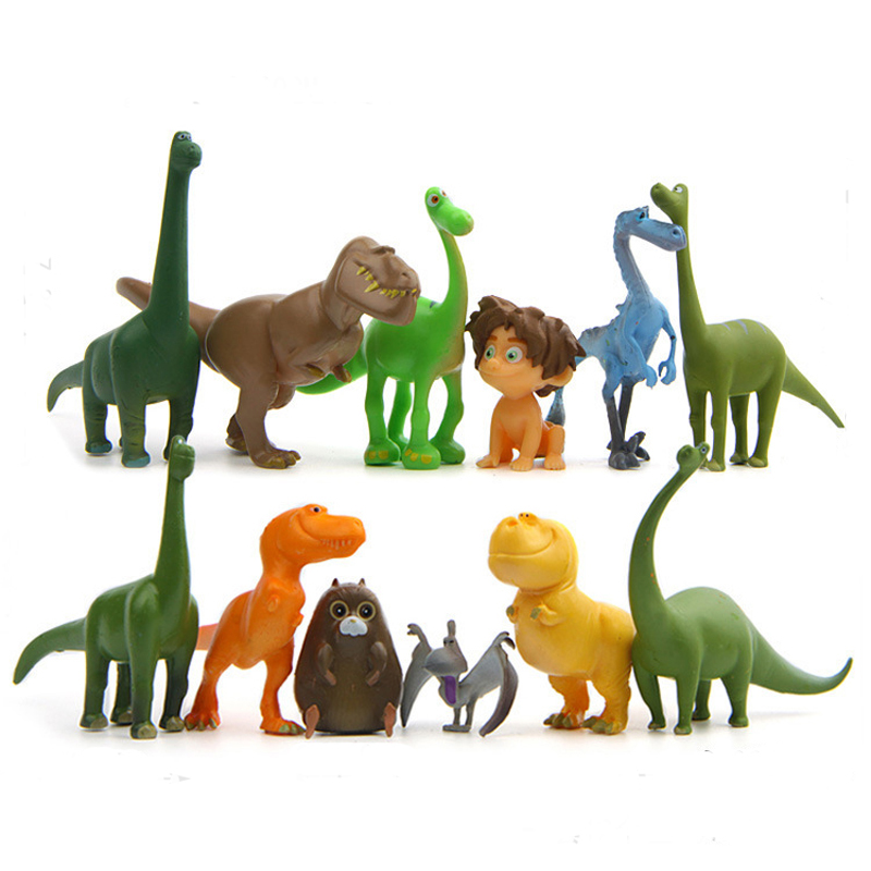 12pcs/lot The Good Dinosaur PVC Figure Arlo Spot Henry Butch Mini Model <font><b>Toy</b></font> <font><b>Cool</b></font> Brinquedos <font><b>for</b></font> <font><b>Kids</b></font> image