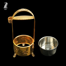 SY 1PC Metal Hookah Charcoal Holder Basket Shisha  Carbon For Chicha Narguile Accessories