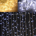 3M x 2M 192 LED Home Outdoor Holiday Christmas Decorative Wedding xmas String Fairy Curtain Garlands Strip Party Lights EU US