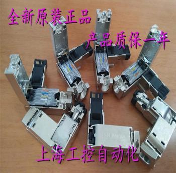 100%  Originla New  2 years warranty    10pcs/1lot  RJ45 network cable plug connector  6GK1901-1BB20-2AB0
