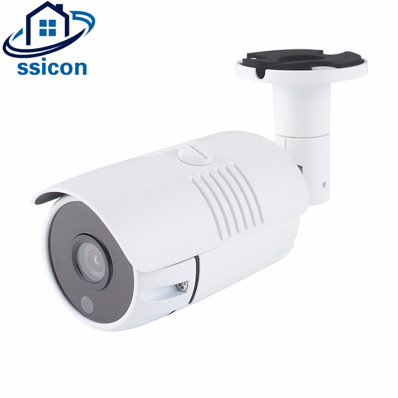 SSICON 2.0MP Metal Housing 3.6mm Lens Bullet Night Vision IR CCTV Camera IP Distance 20M Security POE Camera IP Outdoor 1080P wistino white color metal housing outdoor use waterproof bullet casing for cctv camera ip camera cover case hot sale