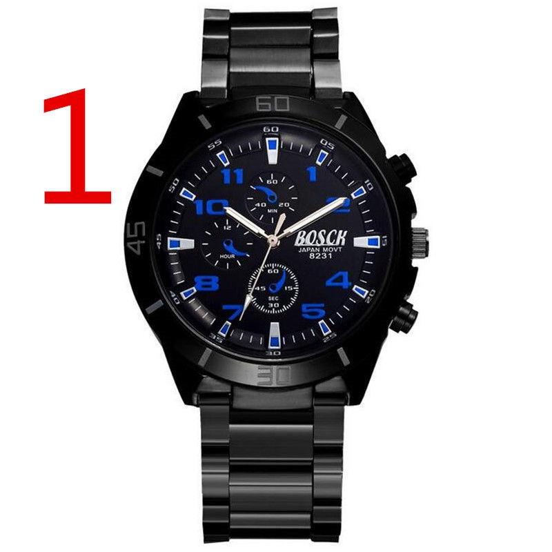 2019 marque hommes montre Date jour en acier inoxydable heures horloge robe à quartz pour mode décontractée montres Sport montre-bracelet .. 69