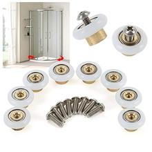 Shower Door Rollers Sliding Tub Shower Door Replacement Rollers Door Hardware Locks 3 4 8 Pack