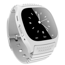 M26 Bluetooth Smart Watch Smartwatch Clock Watches Wristwatch with LED Alitmeter Pedometer Dial SMS Remind Music for Android IOS