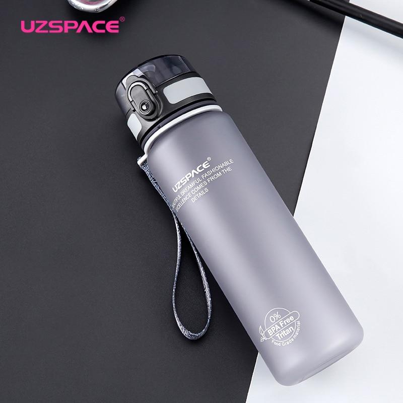 Uzspace Sports Vandflasker Tritan Materiale Drikkevarer Protein - Køkken, spisestue og bar - Foto 3