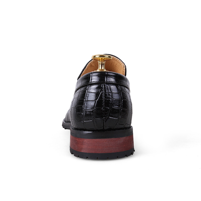 526a9065f0f2a7 2019 Men's Leather PU Business Dress Suit Shoes Casual Men Luxury Brand  Black Beige Tassel Loafers Italian Style Wedding Formal-in Formal Shoes  from Shoes