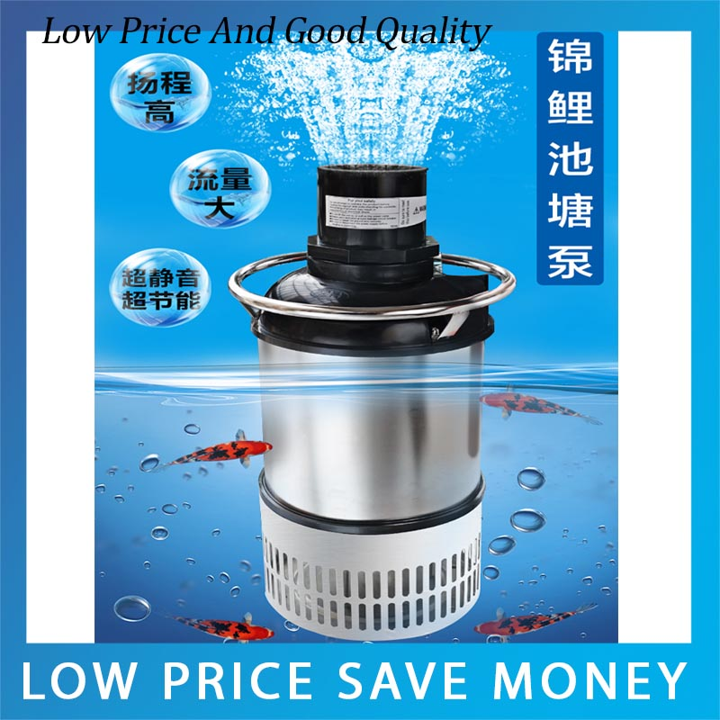 High Quality Submersible Pump Fish Pond Pump 15m3/h Water Circulation Pump high quality pump wbz 25