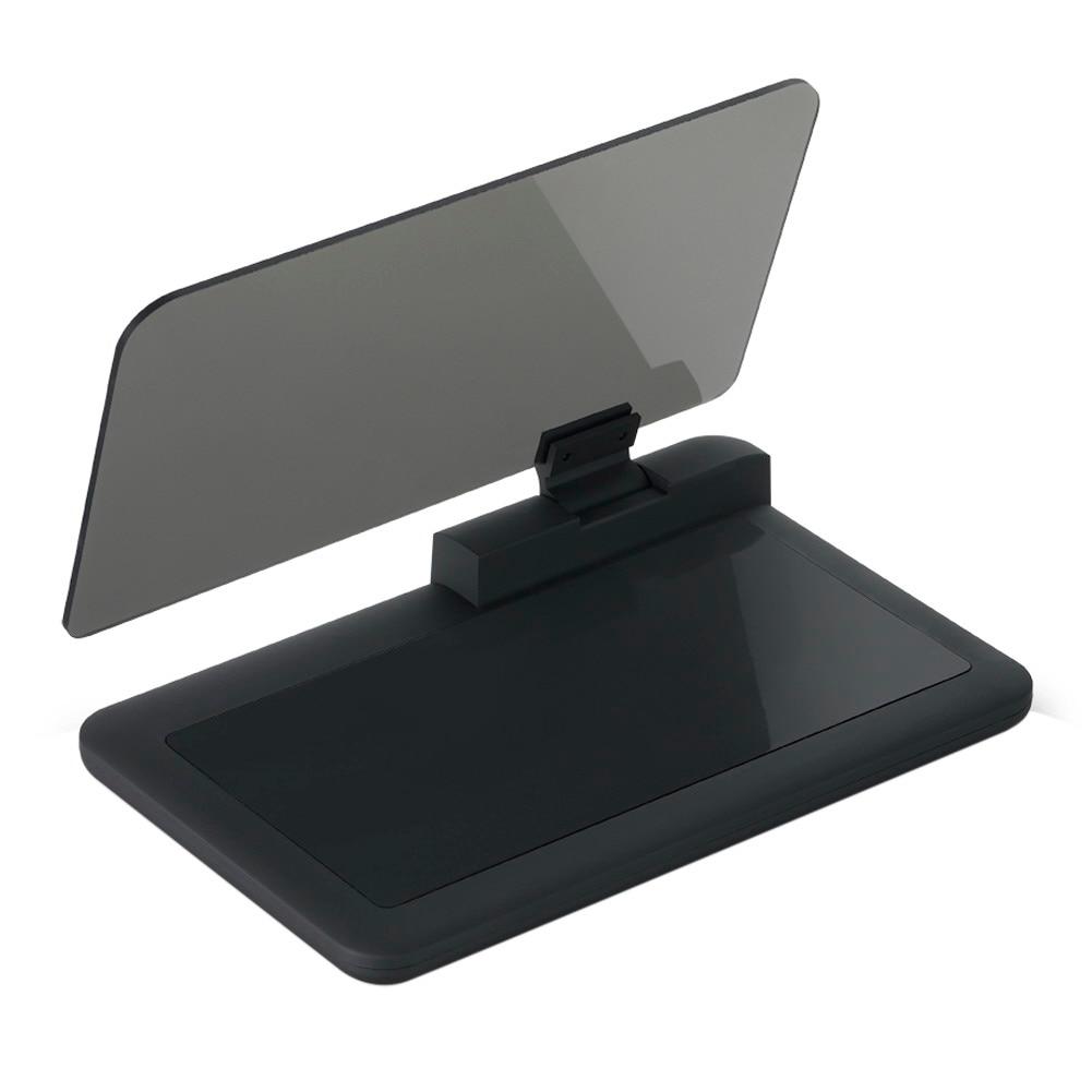 6''HUD Head Up Display Bil HUD Auto LCD Digital Vindrude Projektor Vehicle SUV Telefon / GPS Navigation Holder Head Up Projekt