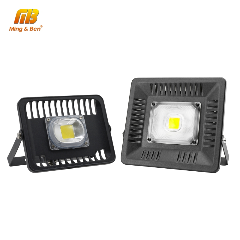 LED COB Floodlight 30W 50W 100W AC220V LED Spotlight IP65 Led Reflector Wall Lamp For Outdoor Square Billboard Cold Warm White