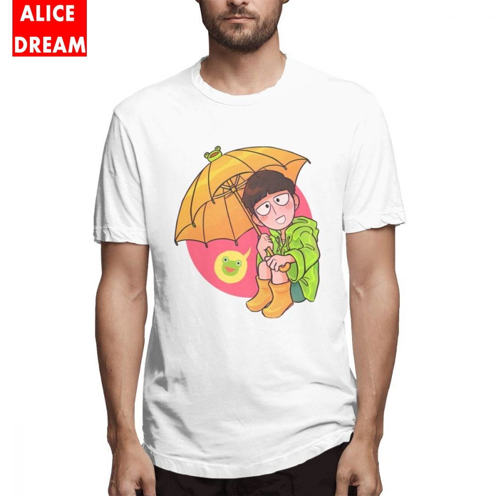 Rainy Day Mob T Shirt MenMan Geek T-Shirt Round Collar S-6XL Plus Size T-shirt Top design New Arrival shirt
