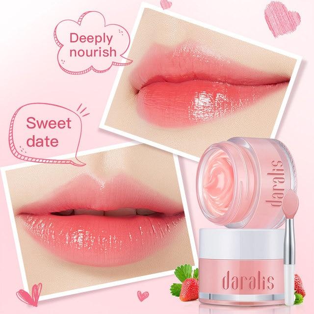 Lip Balm Moisturizer Lip Sleeping Mask Korean Repairing Nourish Hydrating  Lip Cream Plumper Enhancer Vitamin Skin Care Lip Tint 1