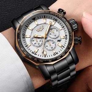 Image 3 - LIGE Mens Watches Top Brand Luxury Fashion Quartz Clock Mens Waterproof Big Dial Watch Men Military Sport Watch Erkek Kol Saati