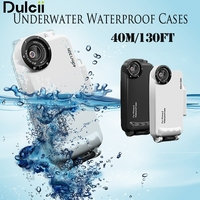 Dulcii For Apple IPhone 6 6s 7 7Waterproof Cases 40m 130ft IPX8 Underwater Diving Cover For
