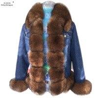linhaoshengyue Fox fur coat