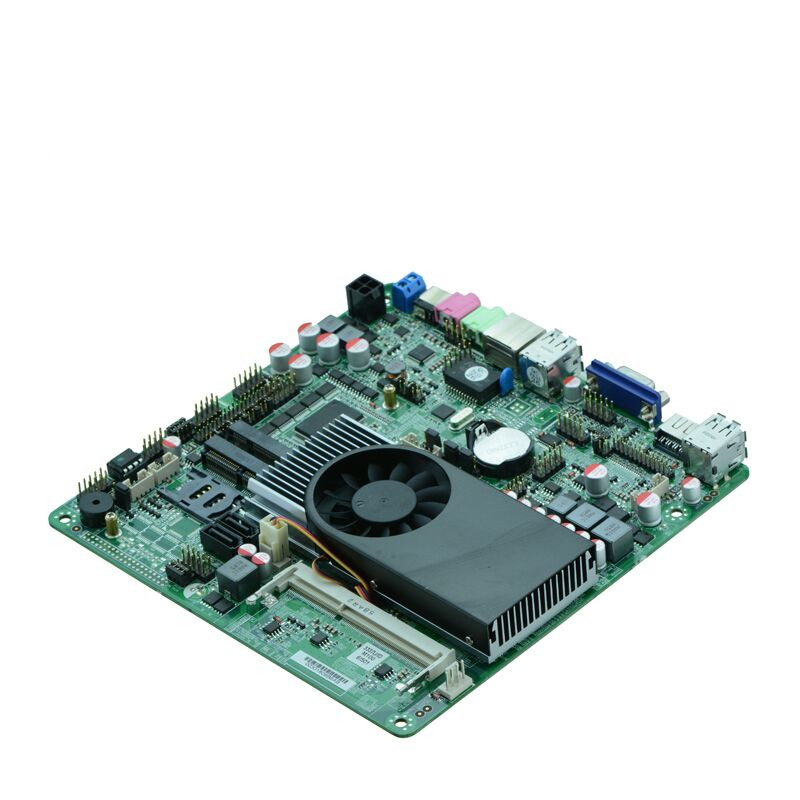 China Cheap Intel I3-3217U Processor digital signage Thin clients POS board all in one mini pc motherboard digital signage ops box machine motherboard digital whiteboard barebone system pc ops mainboard
