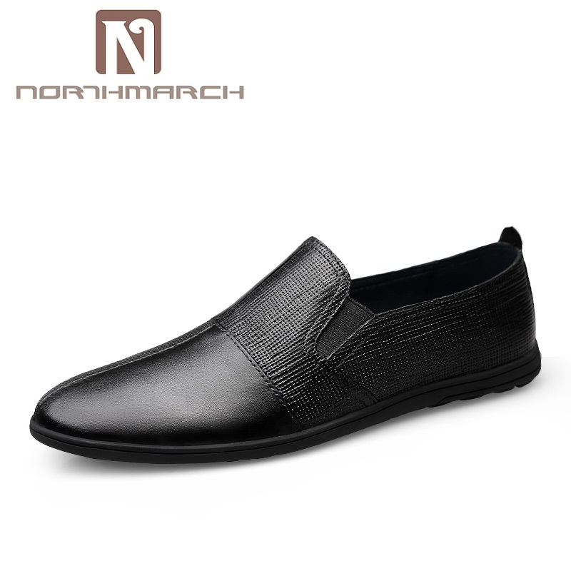 NORTHMARCH Fashion Summer Spring Men Driving Shoes Loafers Genuine Leather Men Shoes Breathable Flats Casual Men Shoes Zapatos spring summer men casual shoes fashion leather lace up driving shoes breathable moccasins men shoes flats
