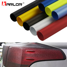 Film de protection en vinyle mat, 30x150cm, pour phare arrière de voiture, autocollant de style